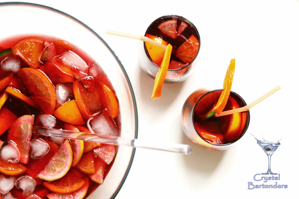 Rum Punch Bowl Recipe