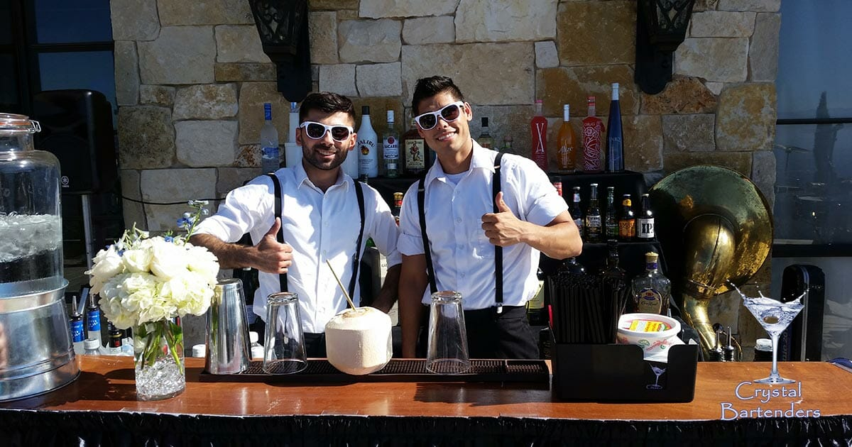Crystal Bartenders – The Best Bartenders for Hire in Los Angeles