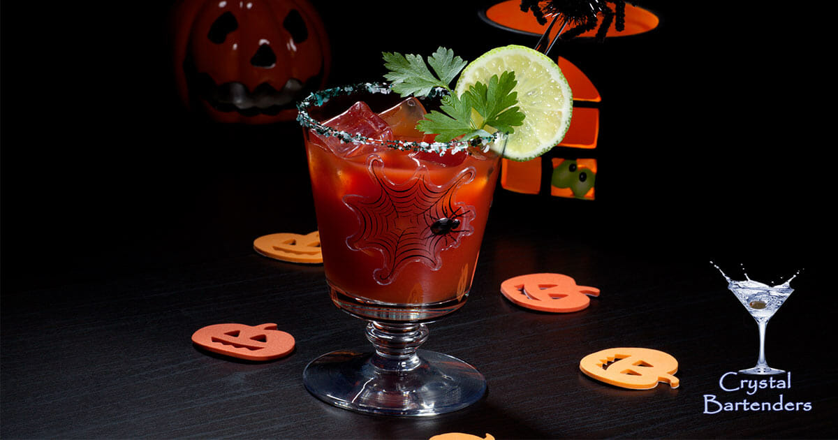 Spooky Bloody Mary Recipe